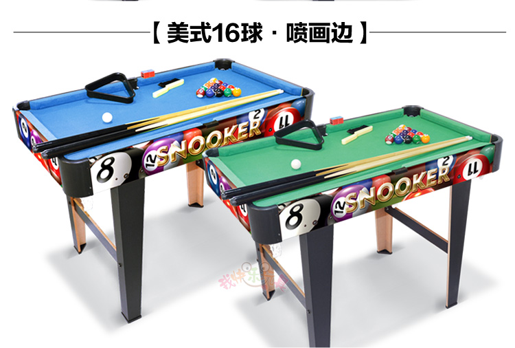 American Childrens Pool Table Home Billiard Table Childrens Wooden - How big is a standard pool table