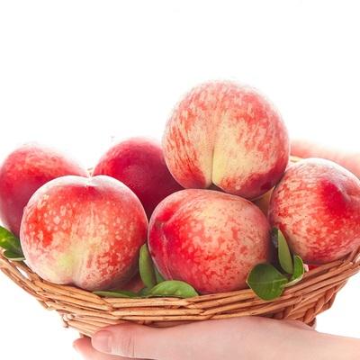 新鲜水蜜桃现摘甜毛脆桃子现货孕妇时令当季水果整箱5斤顺丰包邮的图片来自淘券快报,领券宝