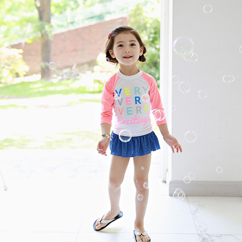01c1fee5d0 ... baby children long sleeve sunscreen Korean cute swimsuit 1- · Zoom ·  lightbox moreview · lightbox moreview ...