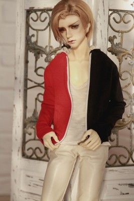 taobao agent 3 points/Uncle BJD baby clothes autumn and winter new style all-match trendy sweater double color matching