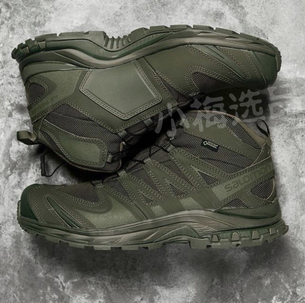 Salomon XA Forces Mid GTX military tactical assault shoes hiking shoes