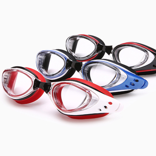 游泳帽套装游泳镜近视游泳眼镜