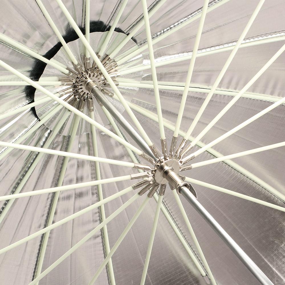 Отражатель Божья коровка 16 кость 1. 5 метров супер-большой черный внутри серебро отражающий зонт-отражательная зонтик фотографии зонтик 60 дюймов 150 см зонтиками