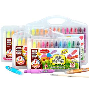 【买1送1】儿童油画炫彩棒12色