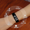 Electronic watch boys and girls students Korean version of the simple trend of mechanical ulzzang children's smart bracelet sports watch