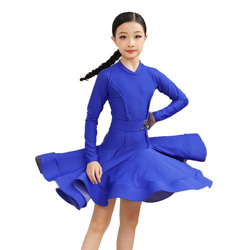 Girls Latin Dance Dresses Heichi girls Latin dance dress children performance Costume