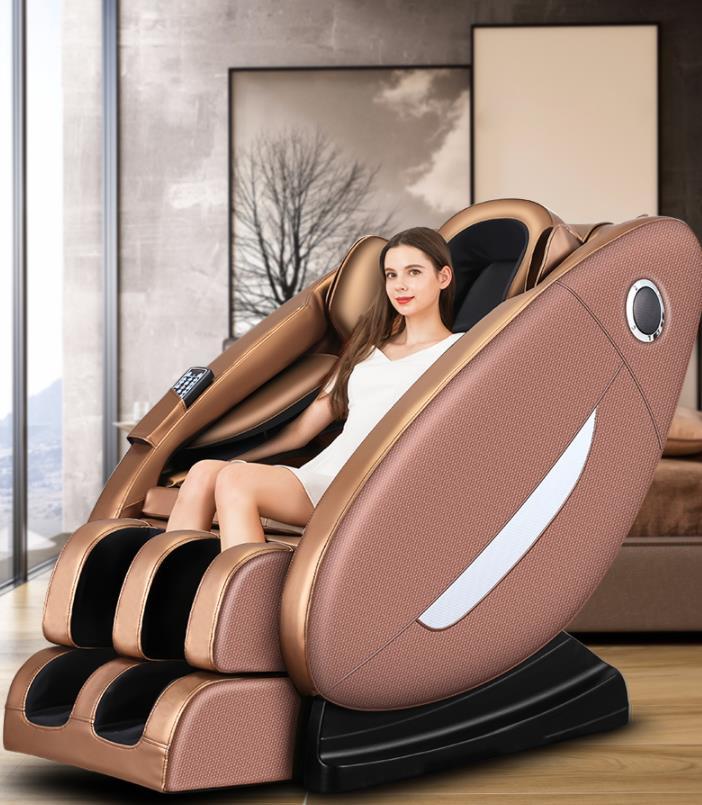 被工作压垮的身躯让按摩椅帮你解压3