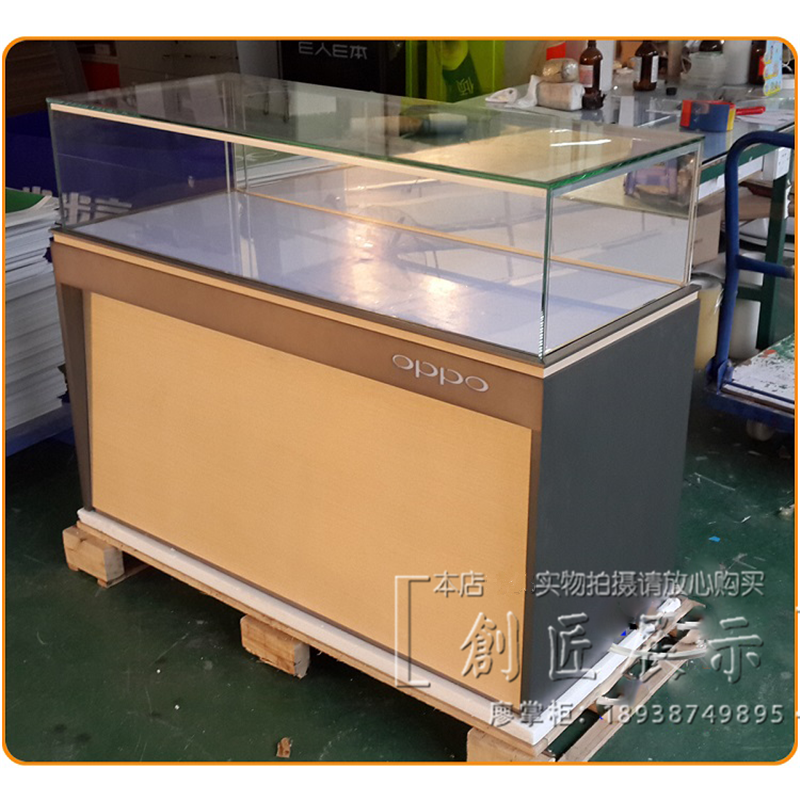 The New Oppo Mobile Phone Display Counter HUAWEI Vivo Jin Millet Mobile  Phone Display Cabinet Experience Taiwan Taiwan Accepted