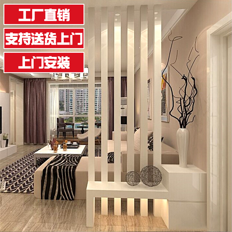 Into The Door Hall Cabinet Xuanguan Cabinet Living Room Dining Room Partition Cabinet Modern Simple Paint Screen Cabinet Background Wall Decoration Cabinet,Small Apartment Small Space Simple Small House Interior Design Philippines