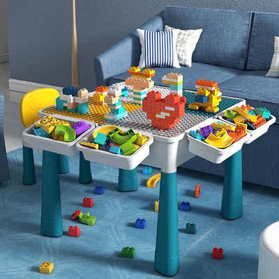 儿童过家家积木拼装益智宝宝玩具男孩开发智力女1-3-6岁生日礼物9