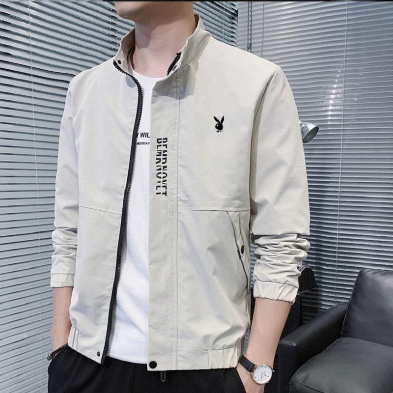 男士外套2020新款韩版潮流秋装立领男装秋季休闲夹克