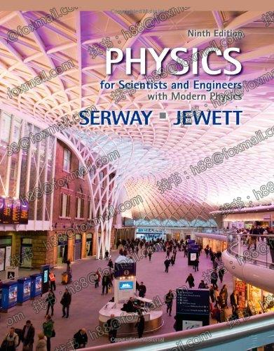 Physics for Scientists and Engineers with Modern Physics 9t