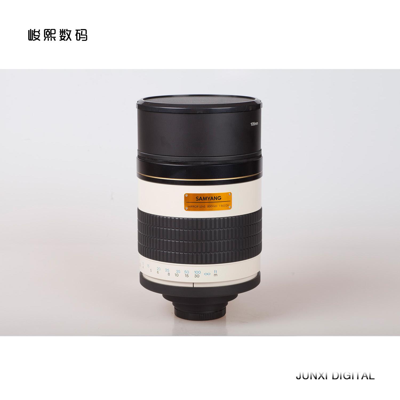 Walimex/v镜头Samyang/三阳800mmF/8.0长焦折返镜头单反手动