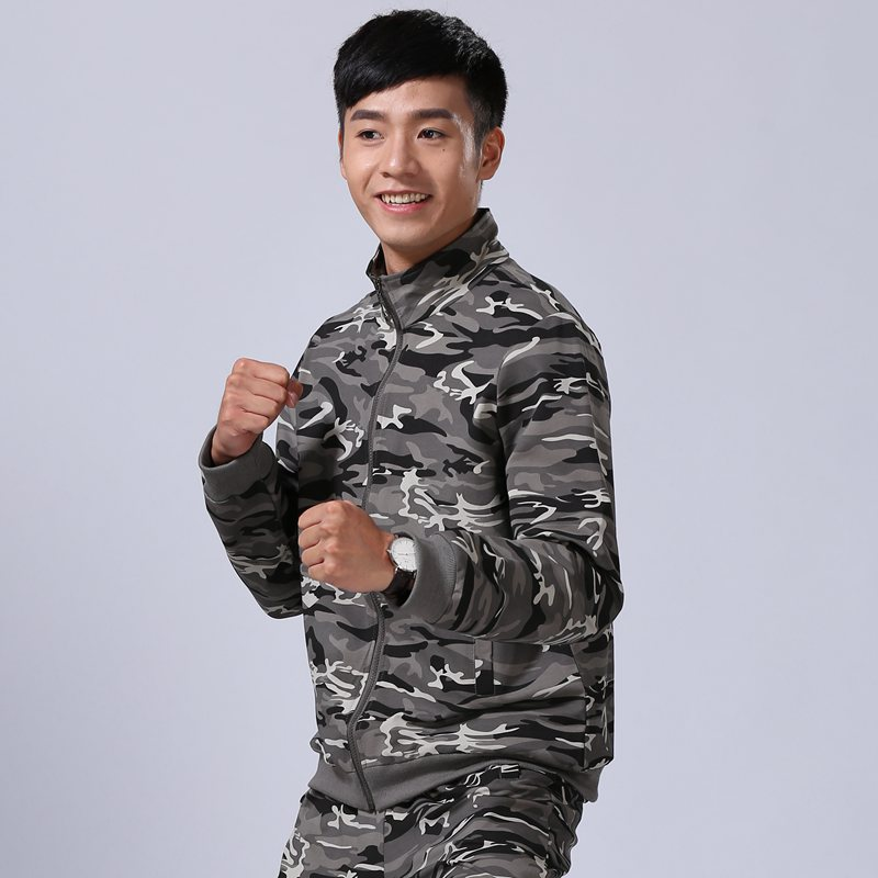 3199fc20e9a87 USD 37.07] Men's outdoor couple camouflage sports jacket sweater ...