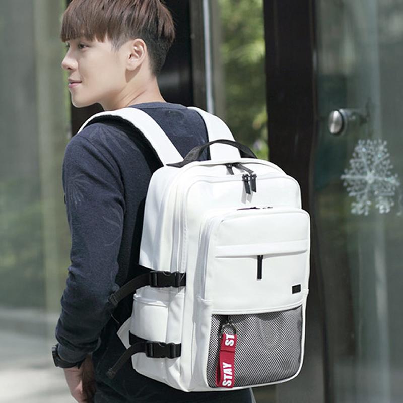 韩国代购DICKFIST多层双肩包大包男女背包书包学生包休闲包旅游包