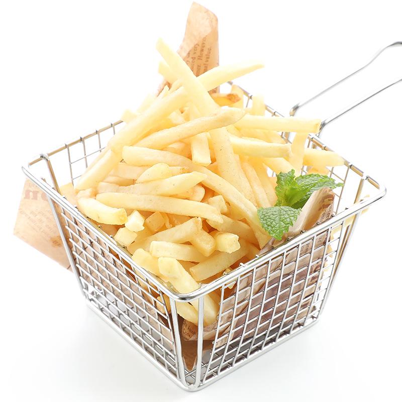 薯条蓝威斯顿细薯条包商用冷冻油炸粗薯条半成品薯条包邮详细照片