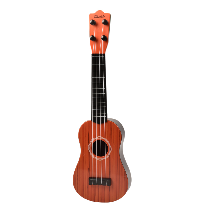 42CM IMITATION PEACH HEART WOOD GRAIN UKULELE SEND PICKING STRING READY STRING TEACHING MATERIALS