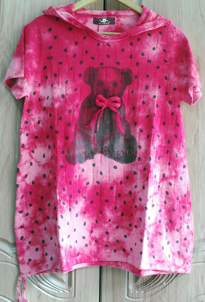 2015新款咔呗娜风格★k-free琦三夏季休闲短袖针织衫K3473