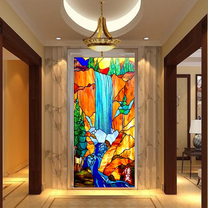 Цвет стекло вход отрезать окрашенный стекло фреска церковь стекло двери окно мозаика искусство стекло потолок континентальный