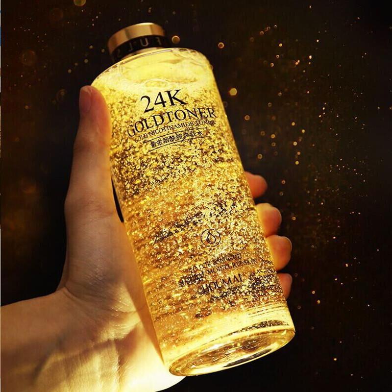 【第二件0元】24k黄金精华液600ml
