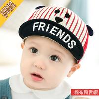 Корейская версия на младенца шапка демисезонный мужские и женские детские Кепка 0-3-6-12 месяцев детские шапка Бейсболка весна и лето