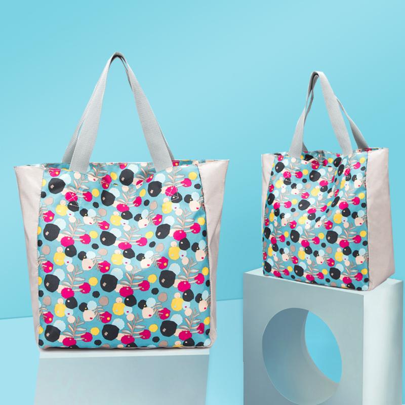 单肩包可整理v袋子袋子购物袋容量防水袋便携手提买菜折叠超市超大