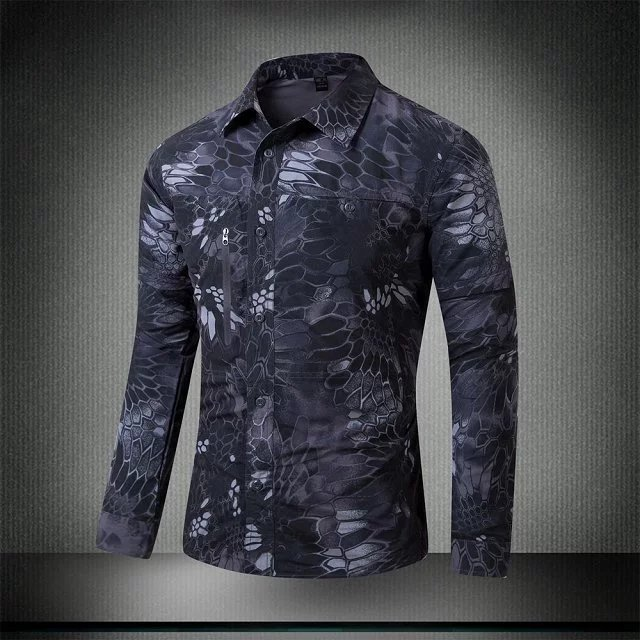 2ab9769003c3 Outdoor Archon Python camouflage quick-drying shirt Secret Service two quick -drying long-. Zoom · lightbox moreview · lightbox moreview ...