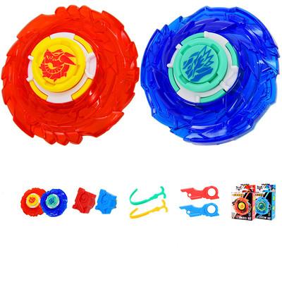 奥迪双钻飓风战魂5陀螺玩具新款炫发光战神之翼2儿童拉线合体魔幻