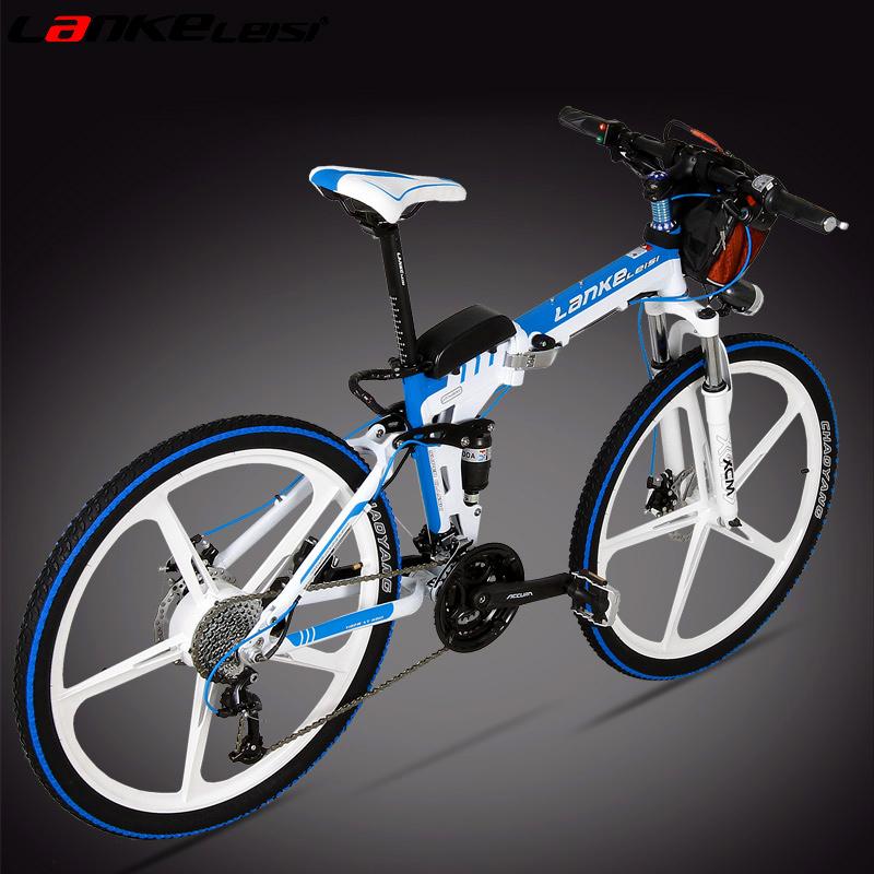 Синий грамм хуарес сложить литий велосипед 26 дюймовый 27 алюминиевый сплав колеса мощность автомобиль электрический после переезда привод
