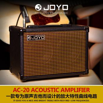 Комбо для акустических гитар,  JOYO выдающийся музыка 20W электрическая коробка баллада дерево гитара AC20/AC40 бомба петь динамик 40W перезаряжаемые портативный звук, цена 12174 руб