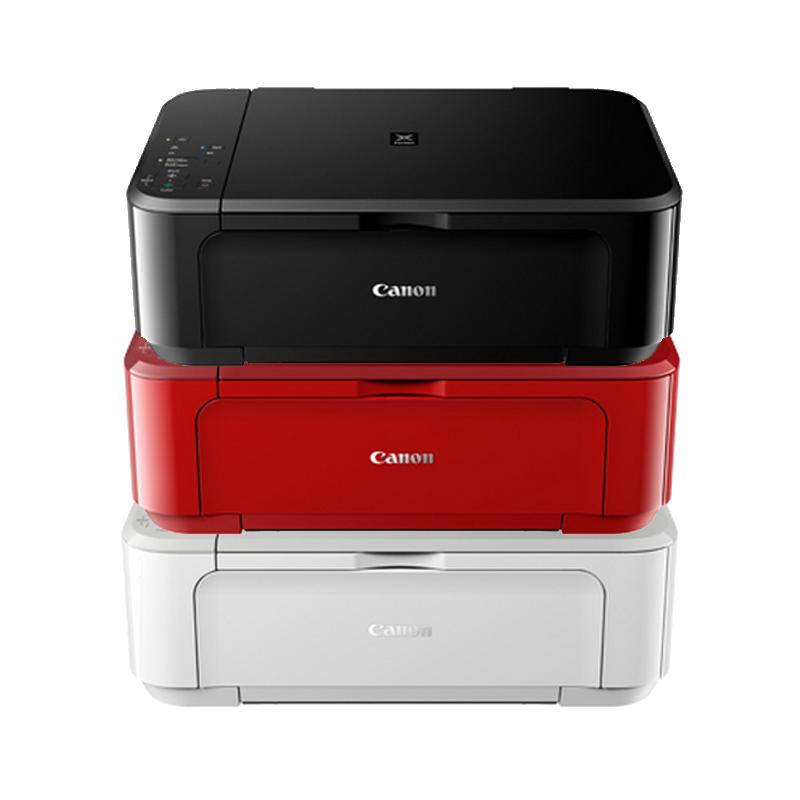 佳能mg3680彩色一体机办公家用复印手机无线WiFi照片双面打印机