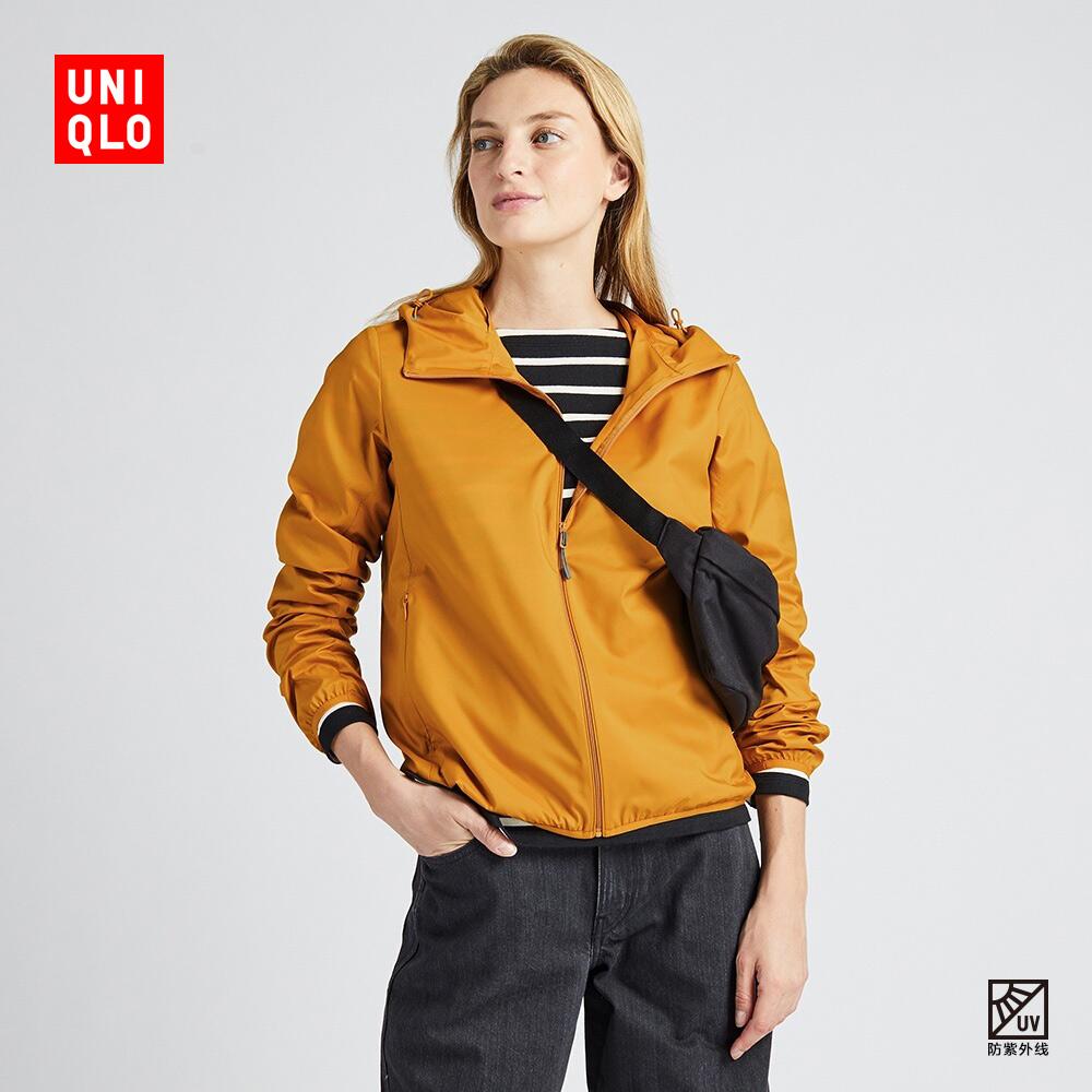 女装 便携式防紫外线连帽外套 419912 优衣库UNIQLO