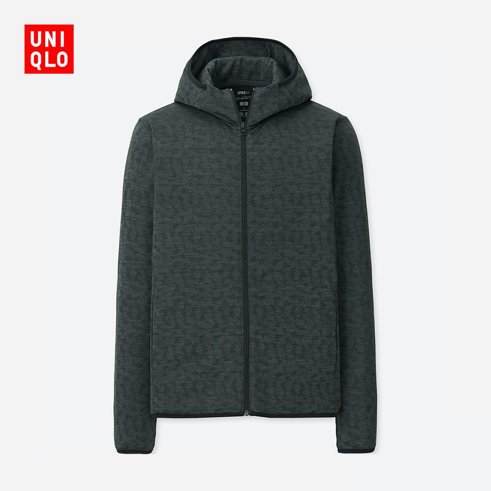 男装 (UT) SPRZ NY DRY-EX连帽拉链开衫(长袖) 406893 优衣库