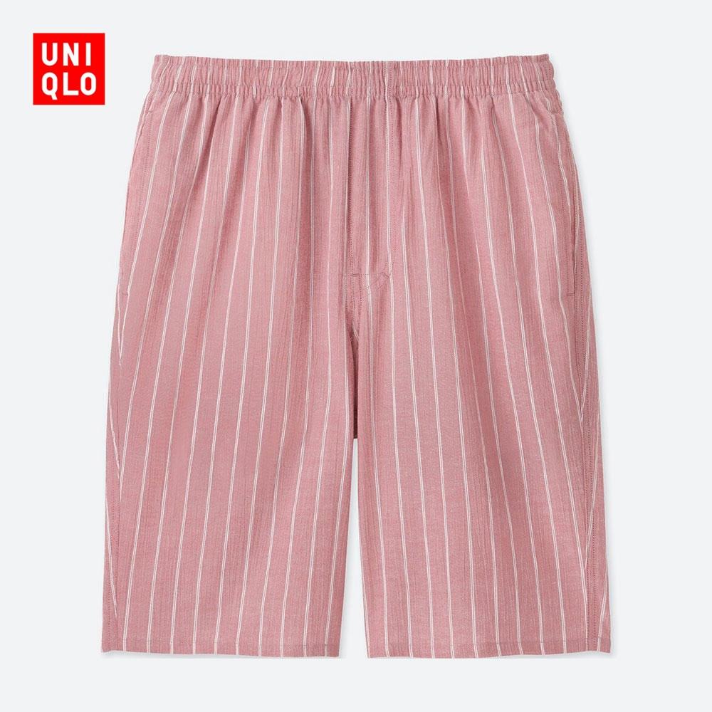 Мужской легкий хлопок теснота шорты 410821 отлично одежда склад UNIQLO