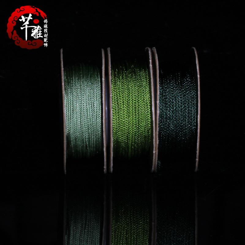 Yanya Тайвань в оригинальной упаковке Линия Fozhu 褆 加 жесткая линия Бусина линия 芊 браслет браслет Mian браслет Китай узел