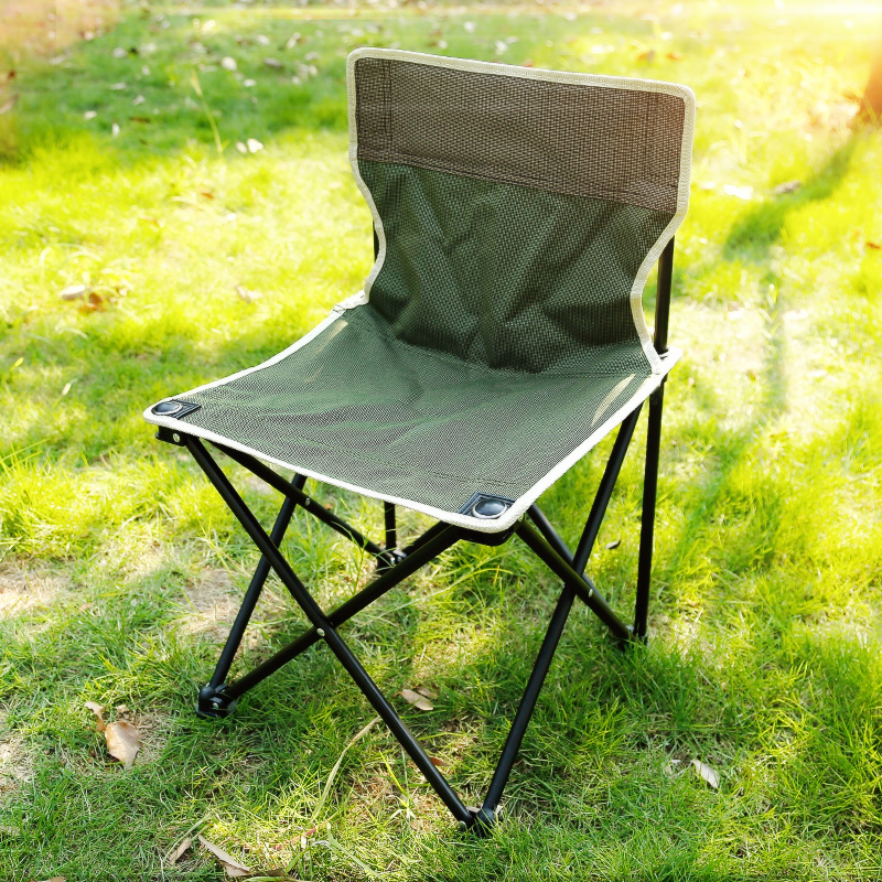 Magnificent Usd 16 62 Outdoor Folding Chair Portable Small Stool Bralicious Painted Fabric Chair Ideas Braliciousco