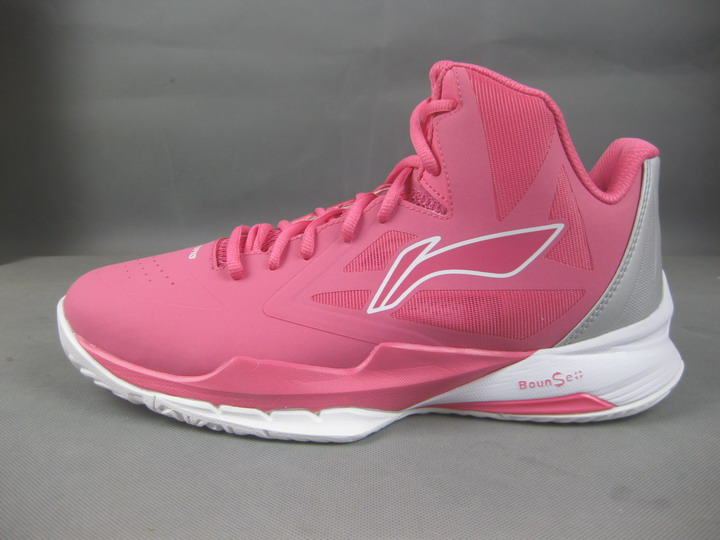c0fb2ca8f8a56 Li Ning CBA professional men's basketball court shoes camouflage pink  pirate ABPH125 ABPK071-4