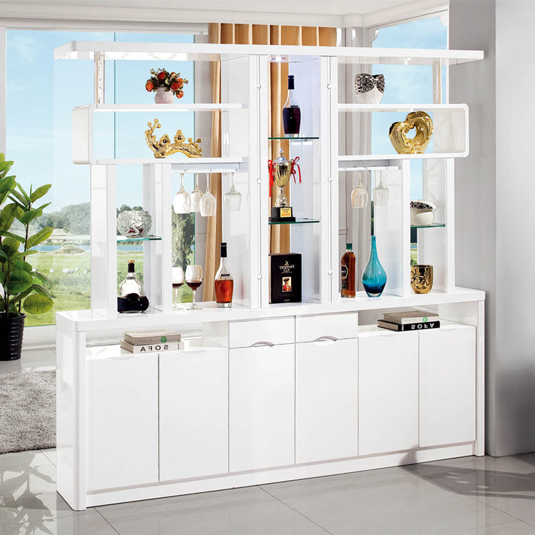Living Room Entrance Cabinet Modern Minimalist Hallway Parion Double Sided Wine Shoe Screen Decoration
