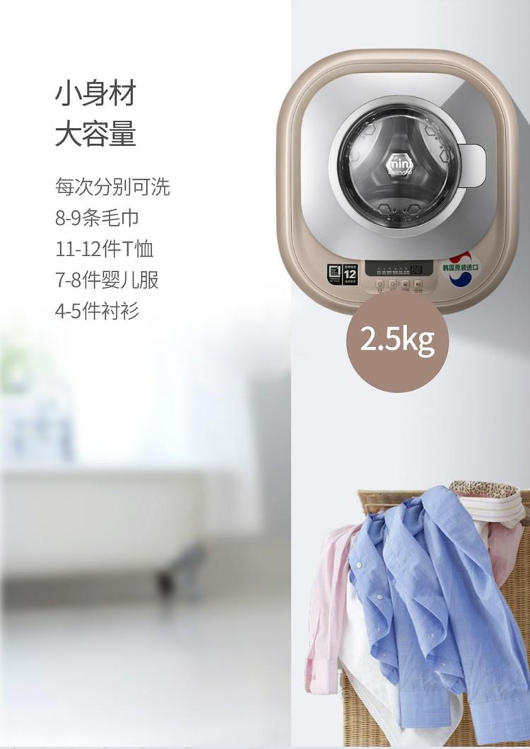 大宇壁掛洗衣機