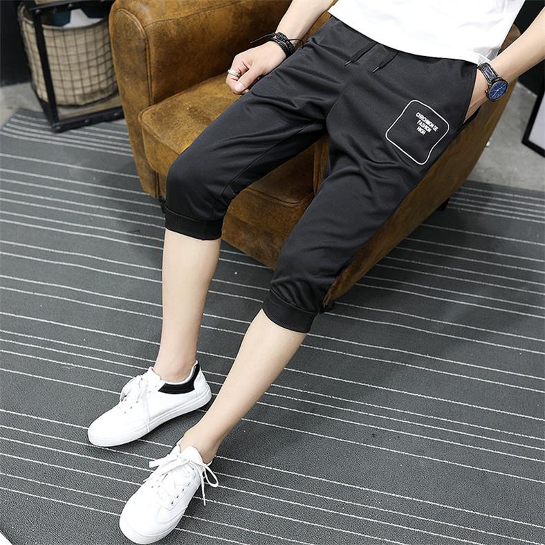 Mùa hè cắt quần bé trai thể thao quần của nam giới chân trong quần thanh niên sinh viên mùa hè phần mỏng quần short giản dị