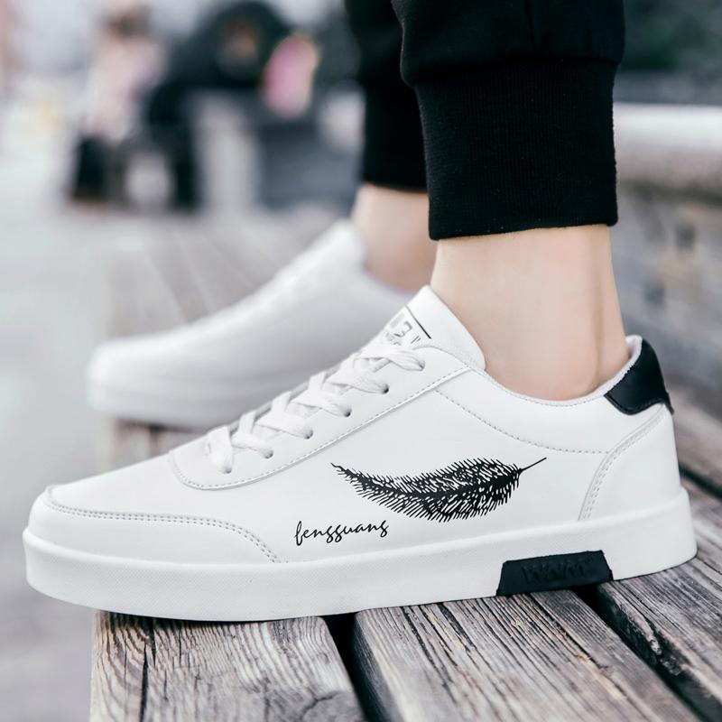 男板鞋春秋季跑步鞋时尚男士休闲鞋2019新款潮流韩版运动鞋男跑鞋