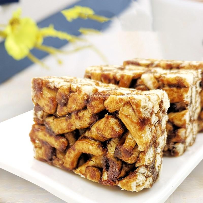 黑糖沙琪玛红糖传统糕点休闲零食点心早餐代餐香甜酥软美味好吃棒