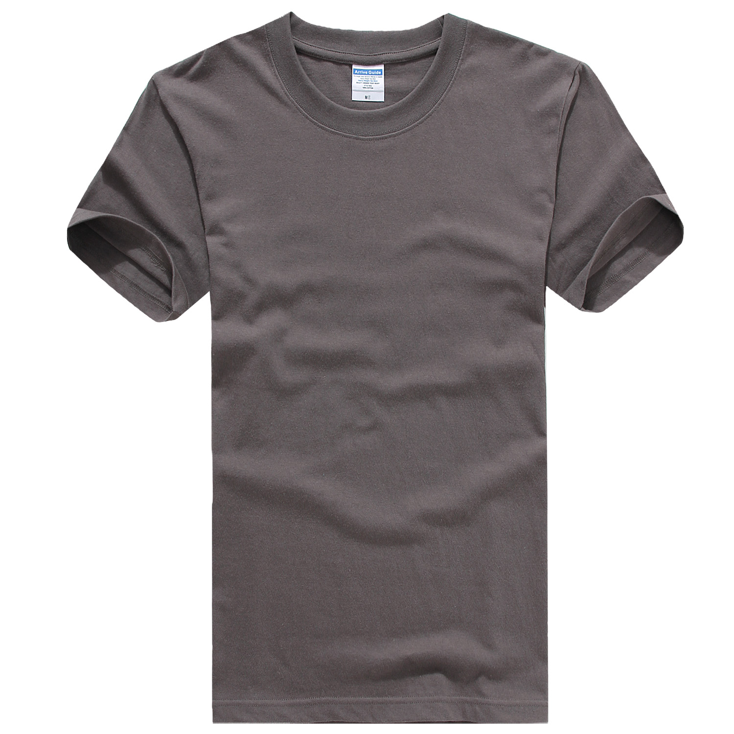 Round Neck Short Sleeve [charcoal Gray]