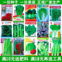 Vegetable seeds Four Seasons sowing non-transgenic peasant garden rapeseed balcony