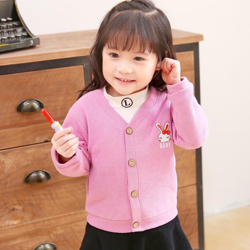 儿童开衫婴幼童针织上衣打底衫男童毛衣长袖0-3宝宝针织外套