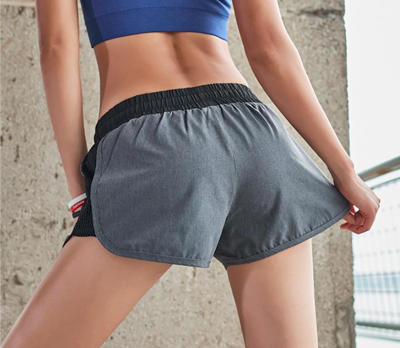 女士运动短裤,速干吸汗清凉透气