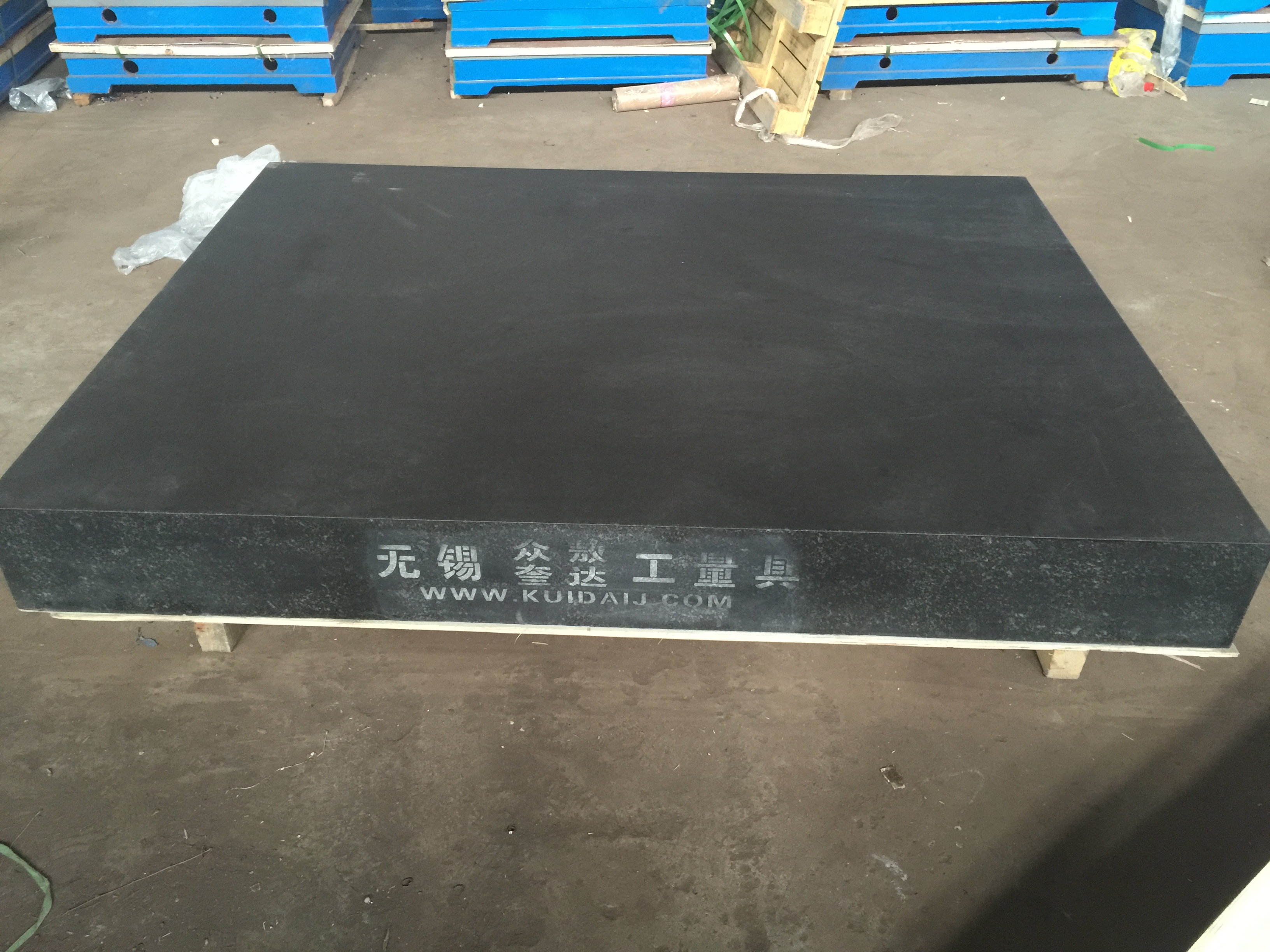Double 0 level granite countertops custom made marble inspection  countertops high precision marble platform 200 * 200