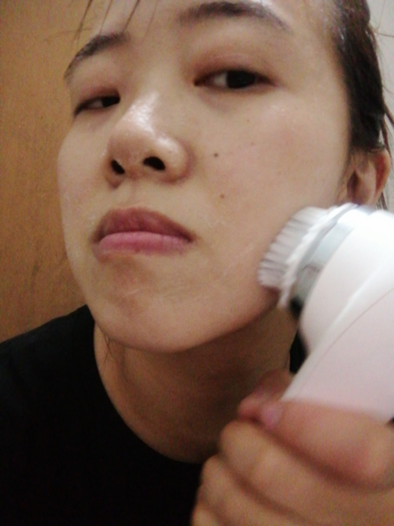 才妃cfcf洁面仪怎么样有用吗多少钱,美女上脸型号CFX7洗脸仪评测