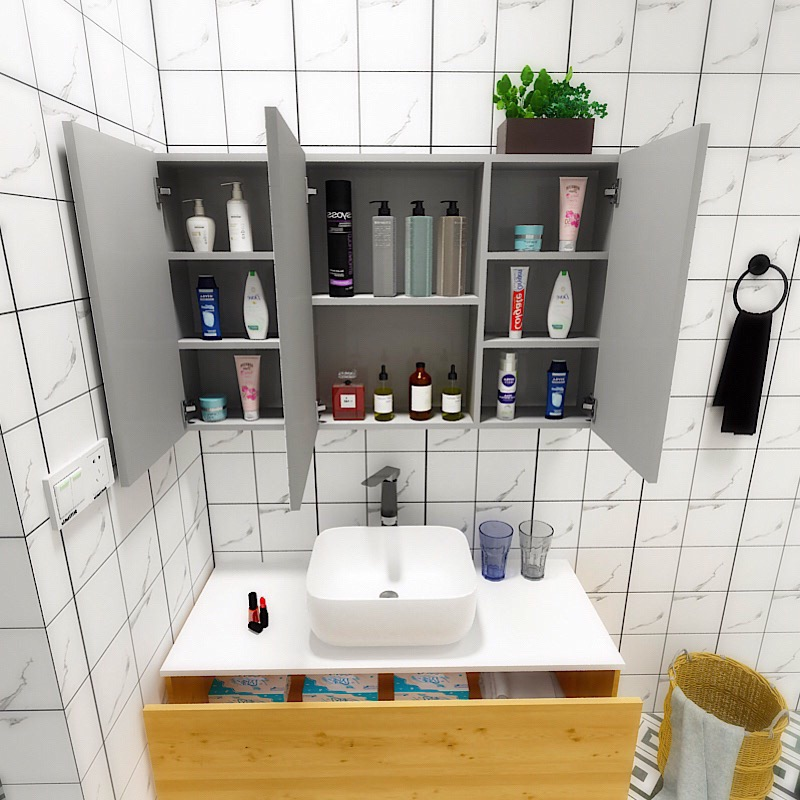 Bathroom Mirror Cabinet Locker