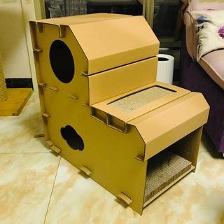 Гофрированный бумага кот гнездо кот поймайте такт мельница коготь устройство пригодный для носки кот коробка статьи кот дом коробка мельница коготь доска китти игрушка, цена 512 руб